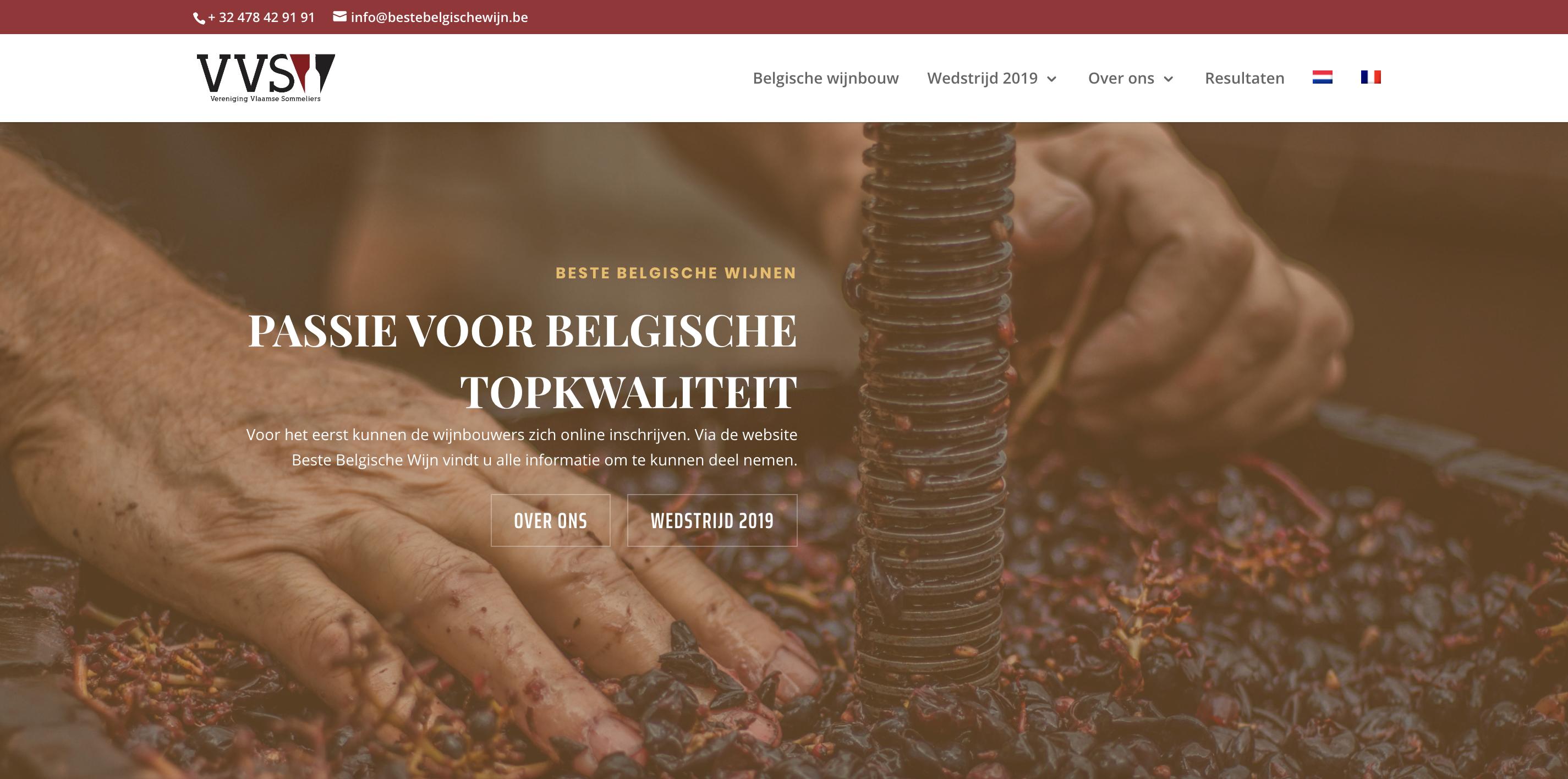 Dammid Beste Belgische Wijn